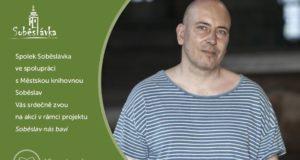Ondřej Štindl - autorské čtení - 30.8.2017 od 18 hodin - Městská knihovna Soběslav