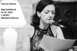 Vino et Verbum - Olga Stehlíková @ terasa soběslavské knihovny