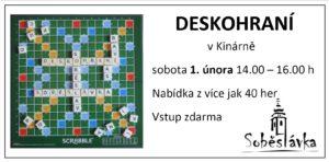 Deskohraní @ kinárna