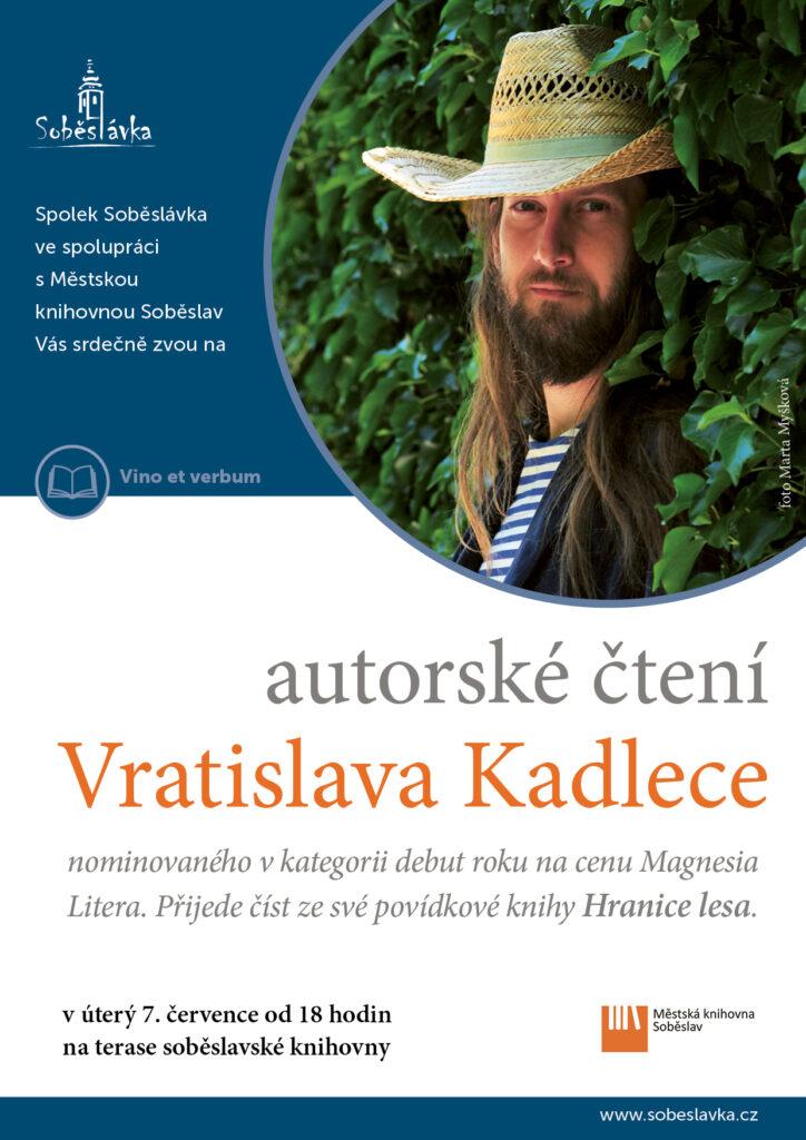 Vratislav Kadlec - autorské čtení @ Městská knihovna Soběslav