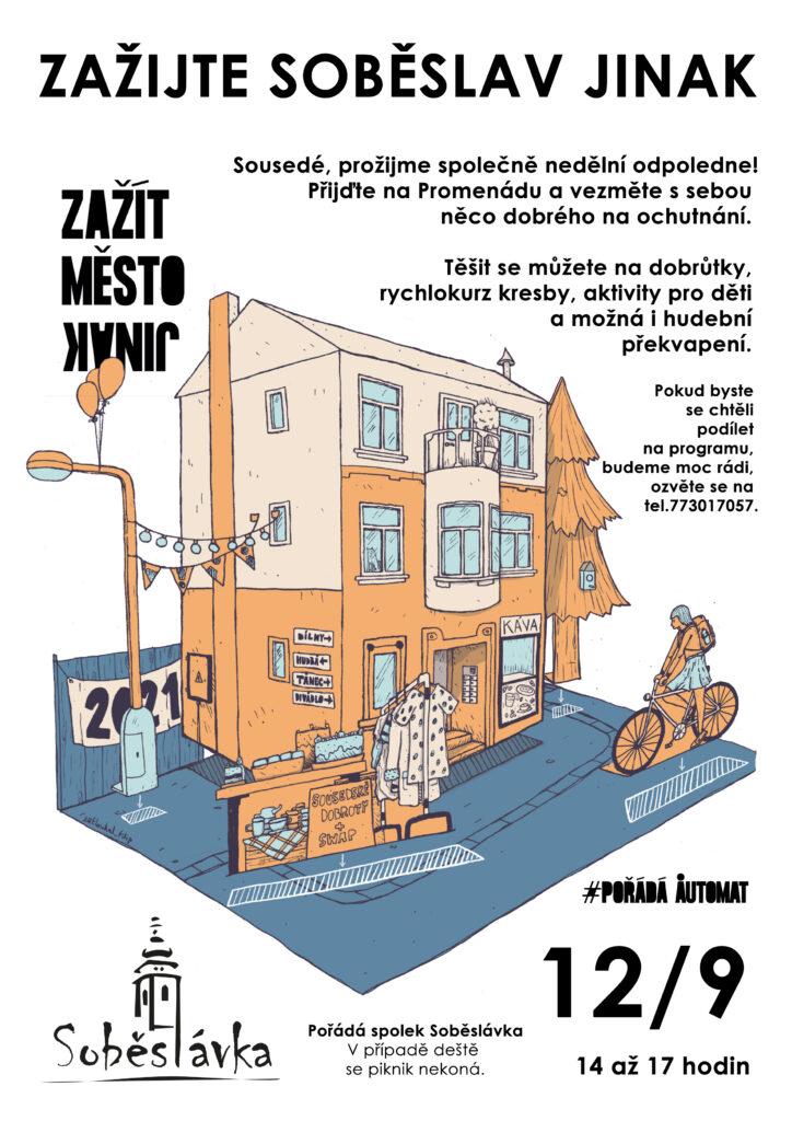 Zažít město jinak @ Promenáda